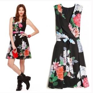 Kirna zibete target floral chiffon wrap dress 2